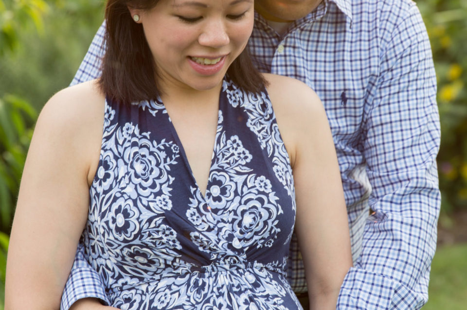 J & R Maternity Session at Goodstay Gardens