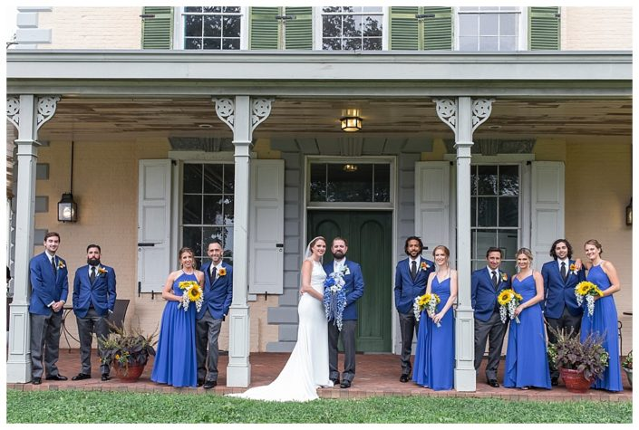belmont mansion bridal party