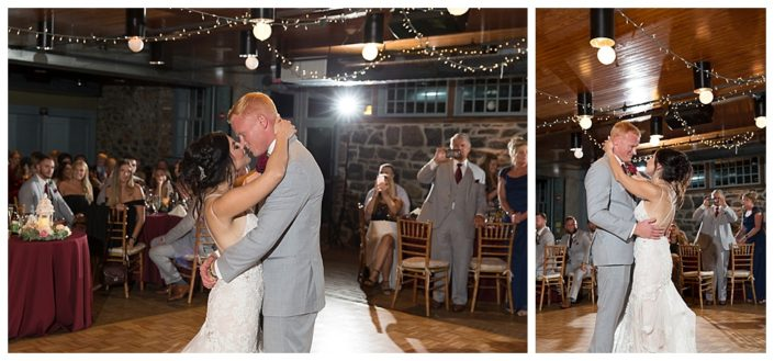 first dance at carriage house de